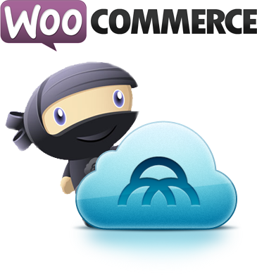WooCommerce and Mijireh Checkout Logo